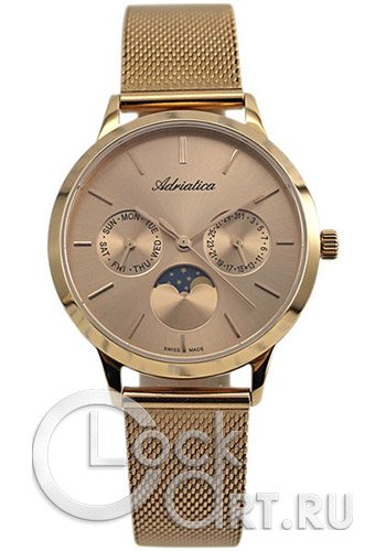 Женские часы Adriatica A3156.5117Q Мужские часы Wenger 01.1641.112