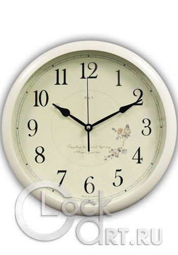 часы B&S Wall Clock HR371W