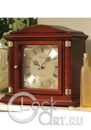 часы Bulova Table Clock B1843