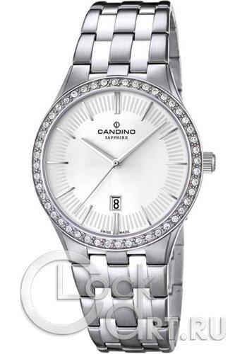 Женские часы Candino C4571_1 Мужские часы Fossil FS4866