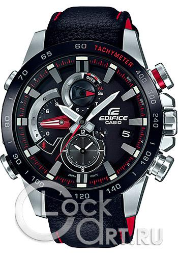 526e9e33eefe Casio Edifice EQB-800BL-1A - купить мужские наручные часы Casio EQB ...