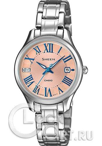 cb8093c66629 Casio Sheen SHE-4050D-9A - купить женские наручные часы Casio SHE ...