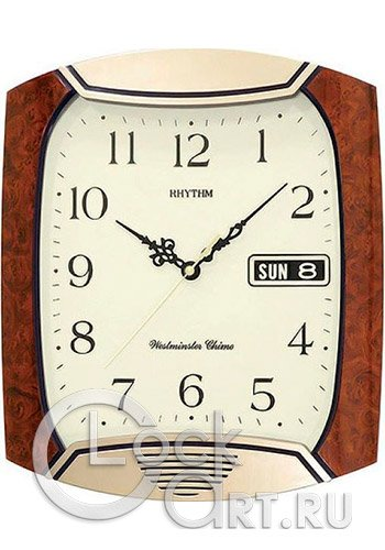часы Rhythm Value Added Wall Clocks 4FH624WR06