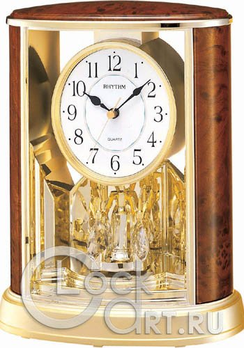 часы Rhythm Contemporary Motion Clocks 4SG724WS06
