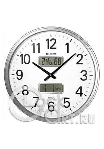 часы Rhythm Value Added Wall Clocks CFG709NR19