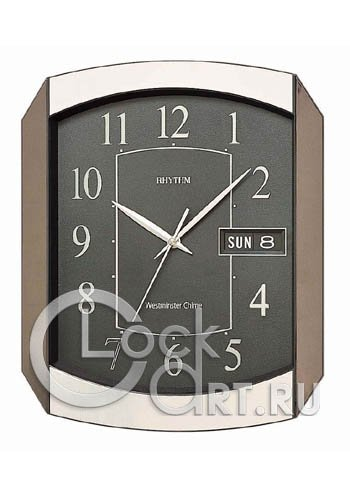 часы Rhythm Value Added Wall Clocks CFH102NR02