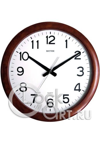 часы Rhythm Wooden Wall Clocks CMG919NR06