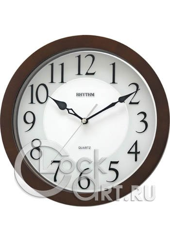 часы Rhythm Wooden Wall Clocks CMG928NR06