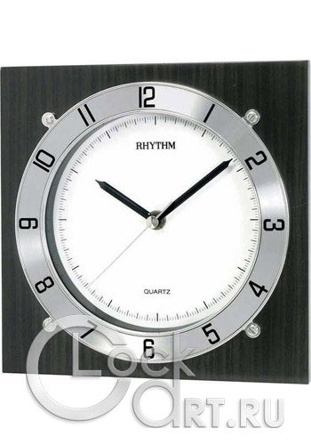 часы Rhythm Wooden Wall Clocks CMG983NR02