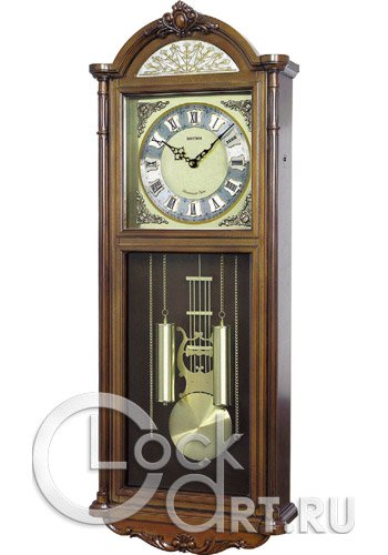 часы Rhythm High Grade Wooden Clocks CMJ515NR06