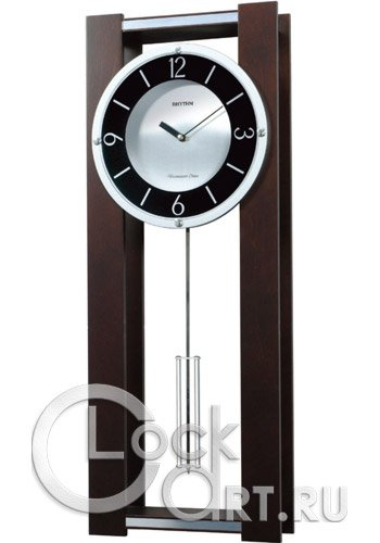 часы Rhythm Wooden Wall Clocks CMJ522NR06
