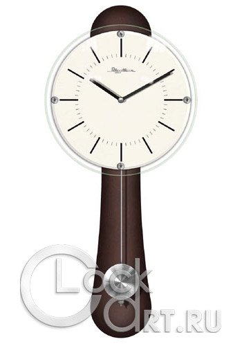 часы Rhythm Wooden Wall Clocks CMP525NR06