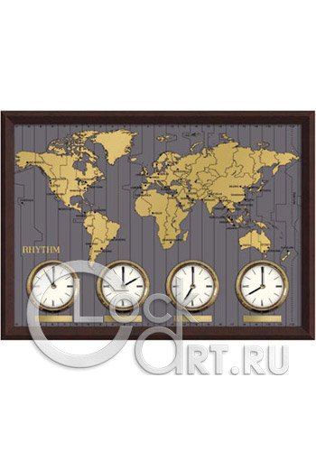 часы Rhythm Wooden Wall Clocks CMW902NR06