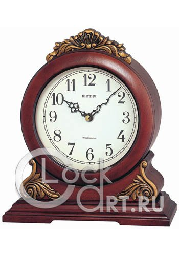 часы Rhythm Wooden Table Clocks CRH114NR06