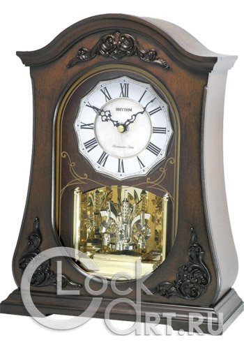 часы Rhythm Wooden Table Clocks CRH165NR06