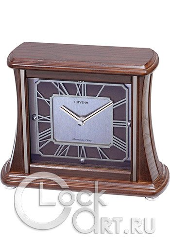 часы Rhythm Wooden Table Clocks CRH210NR06