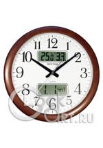 Настенные часы Rhythm Wooden Wall Clocks CFG901NR06