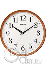 Настенные часы Rhythm Wooden Wall Clocks CMG135NR06