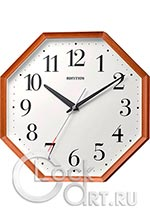 Настенные часы Rhythm Wooden Wall Clocks CMG136NR06