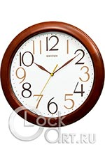 Настенные часы Rhythm Wooden Wall Clocks CMG138NR06