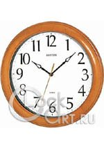 Настенные часы Rhythm Wooden Wall Clocks CMG270NR07