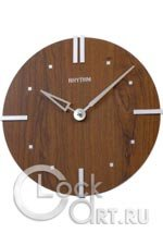 Настенные часы Rhythm Wooden Wall Clocks CMG284NR06