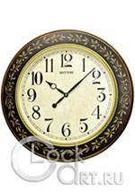 Настенные часы Rhythm Wooden Wall Clocks CMG292NR06