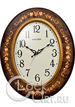 Настенные часы Rhythm Wooden Wall Clocks CMG298NR06