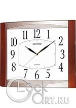 Настенные часы Rhythm Wooden Wall Clocks CMG899NR06