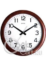 Настенные часы Rhythm Wooden Wall Clocks CMG919NR06