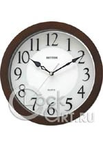 Настенные часы Rhythm Wooden Wall Clocks CMG928NR06