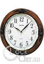 Настенные часы Rhythm Wooden Wall Clocks CMG938NR06