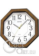 Настенные часы Rhythm Wooden Wall Clocks CMG944NR06