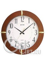 Настенные часы Rhythm Wooden Wall Clocks CMG976NR06