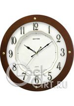 Настенные часы Rhythm Wooden Wall Clocks CMG977NR06