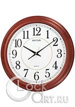 Настенные часы Rhythm Wooden Wall Clocks CMG982NR06