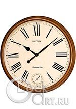 Настенные часы Rhythm Wooden Wall Clocks CMH721CR06