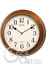 Настенные часы Rhythm Wooden Wall Clocks CMH722CR06