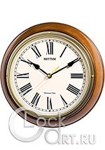 Настенные часы Rhythm Wooden Wall Clocks CMH723CR06