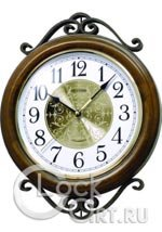 Настенные часы Rhythm Wooden Wall Clocks CMH754NR06