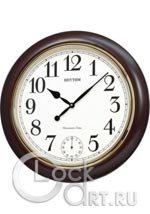 Настенные часы Rhythm Wooden Wall Clocks CMH755NR06