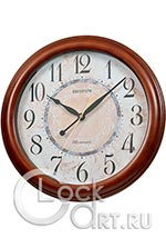 Настенные часы Rhythm Wooden Wall Clocks CMH803NR06