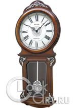 Настенные часы Rhythm Wooden Wall Clocks CMJ380CR06