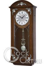 Настенные часы Rhythm High Grade Wooden Clocks CMJ449NR06