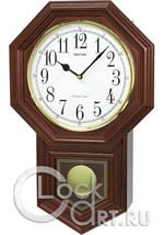 Настенные часы Rhythm Wooden Wall Clocks CMJ501FR06