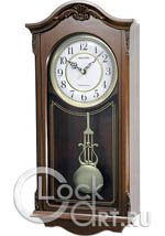 Настенные часы Rhythm Wooden Wall Clocks CMJ502FR06