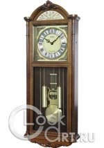 Настенные часы Rhythm High Grade Wooden Clocks CMJ515NR06