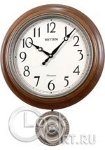 Настенные часы Rhythm Wooden Wall Clocks CMJ549NR06