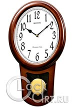 Настенные часы Rhythm Wooden Wall Clocks CMJ576NR06
