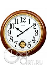 Настенные часы Rhythm Wooden Wall Clocks CMJ579NR06